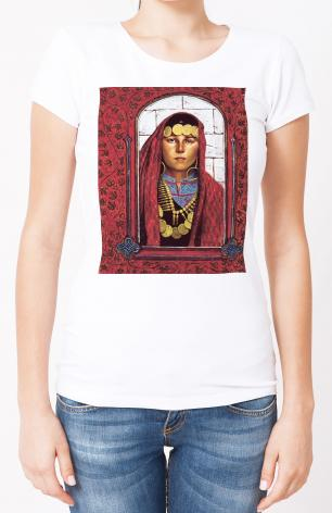 Ladies T-shirt - St. Mary Magdalene by L. Glanzman