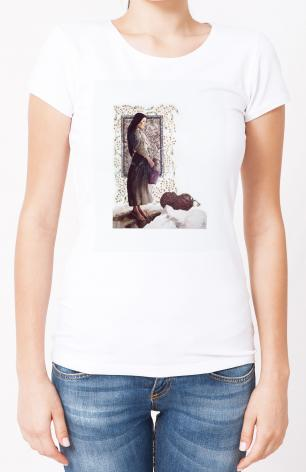 Ladies T-shirt - Samaritan Woman by L. Glanzman