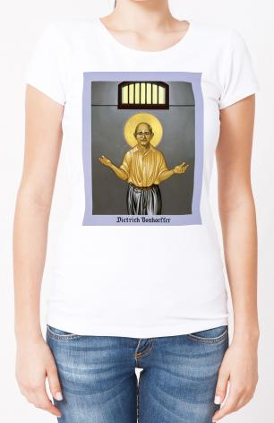 Ladies T-shirt - Dietrich Bonhoeffer by L. Williams
