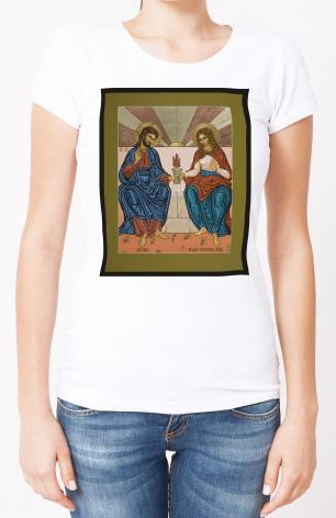 Ladies T-shirt - Jesus and Mary Magdalene by L. Williams