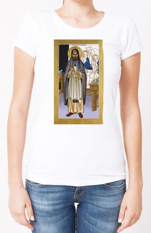 Ladies T-shirt - St. Andrei Rublev by L. Williams