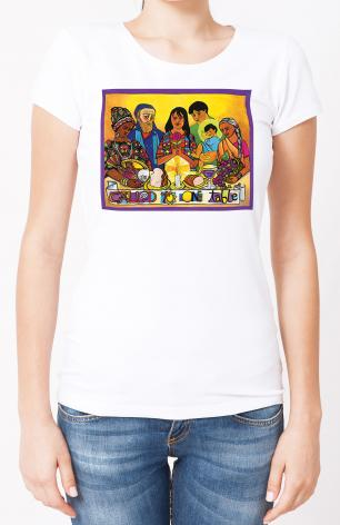 Ladies T-shirt - Called to One Table by M. McGrath