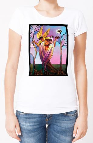Ladies T-shirt - Easter Morning by M. McGrath