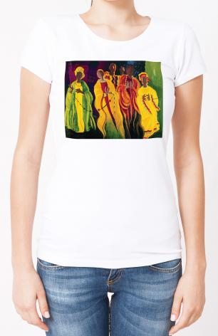 Ladies T-shirt - Sr. Thea Bowman: I'll Be Singing Up There by M. McGrath