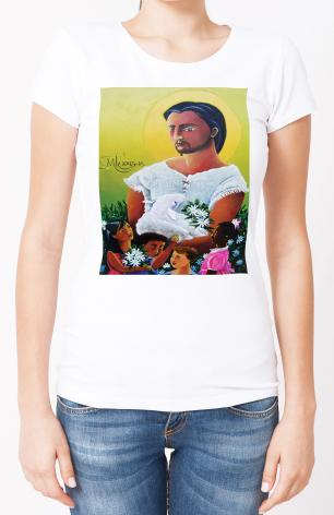 Ladies T-shirt - Jesus and the Holy Innocents by M. McGrath