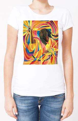 Ladies T-shirt - Lord of the Dance by M. McGrath