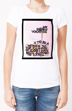 Ladies T-shirt - My Deepest Vocation by M. McGrath