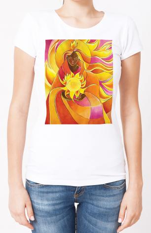 Ladies T-shirt - Mary, Our Lady of Light by M. McGrath
