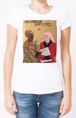 Ladies T-shirt - Sr. Thea Bowman and Dorothy Day by M. McGrath