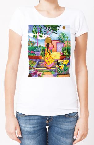 Ladies T-shirt - Woman at the Well by M. McGrath