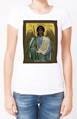Ladies T-shirt - St. Gabriel Archangel by R. Lentz