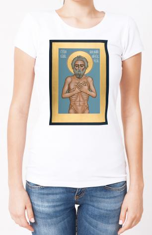 Ladies T-shirt - St. Basil the Blessed of Moscow by R. Lentz