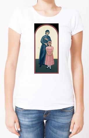 Ladies T-shirt - St. Elizabeth Seton by R. Lentz