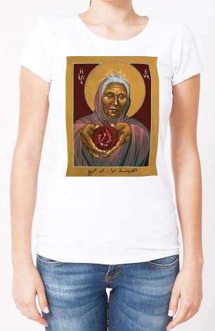 Ladies T-shirt - Eve, The Mother of All by R. Lentz