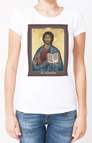 Ladies T-shirt - Jesus Christ: Pantocrator by R. Lentz