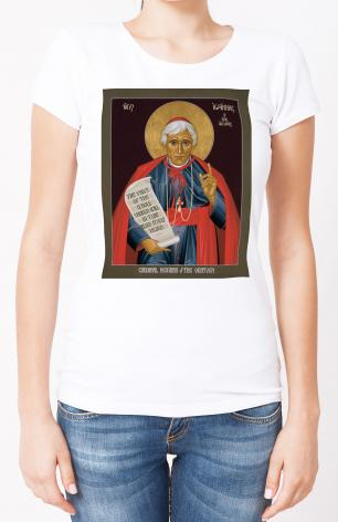 Ladies T-shirt - Bl. John Henry Newman by R. Lentz