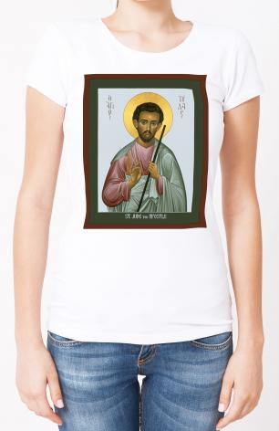 Ladies T-shirt - St. Jude the Apostle by R. Lentz