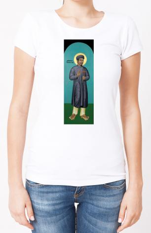 Ladies T-shirt - St. Andrew Dung-Lac by R. Lentz