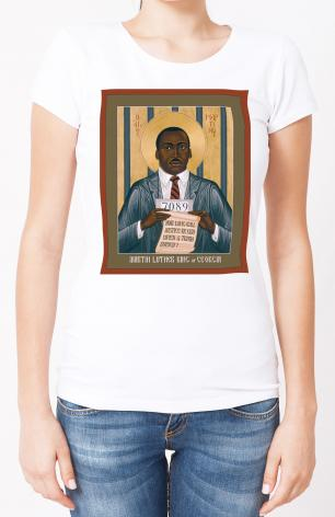 Ladies T-shirt - Martin Luther King of Georgia by R. Lentz