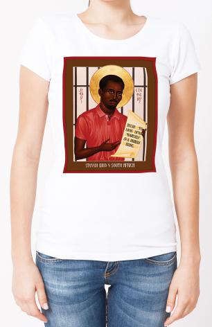 Ladies T-shirt - Stephen Biko of South Africa by R. Lentz