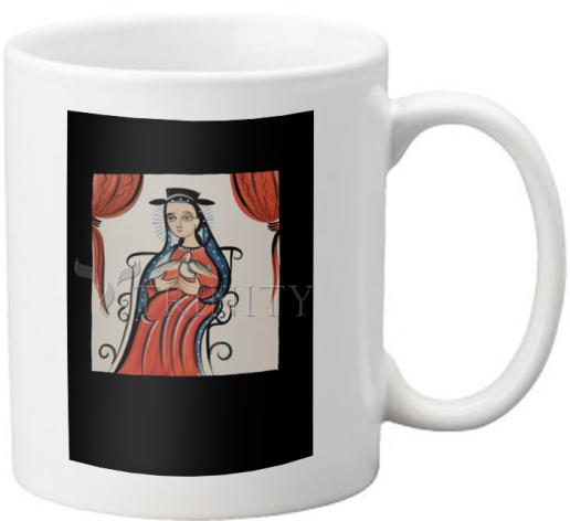 Coffee-Tea Mug - Soul of Mary by A. Olivas