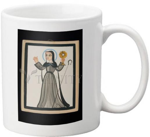 Coffee-Tea Mug - St. Clare of Assisi by A. Olivas