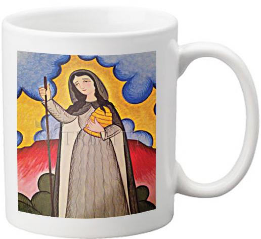 Coffee-Tea Mug - St. Gobnait by A. Olivas