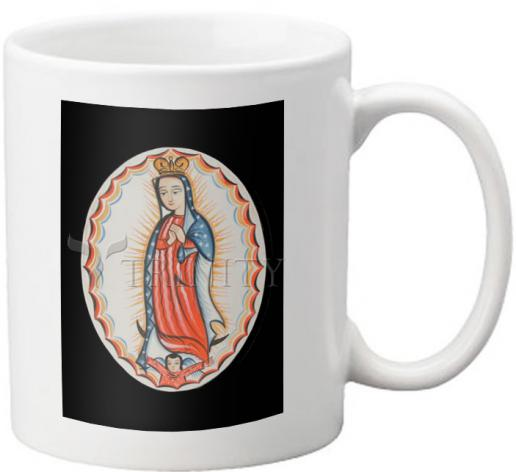 Coffee-Tea Mug - Our Lady of Guadalupe by A. Olivas