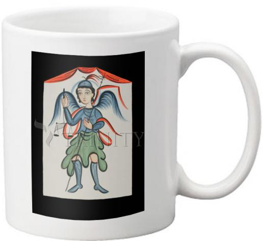Coffee-Tea Mug - St. Michael Archangel by A. Olivas