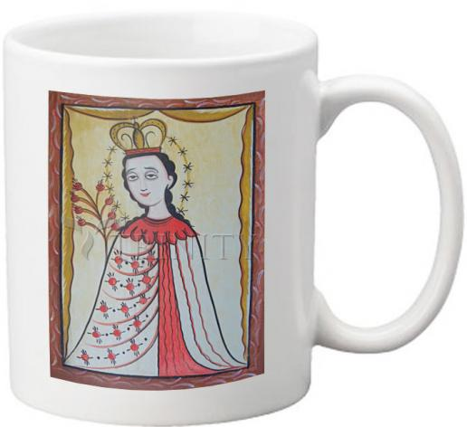 Coffee-Tea Mug - Our Lady of the Roses by A. Olivas