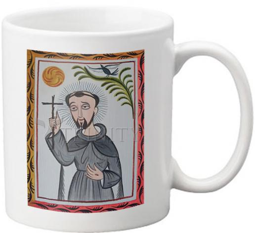 Coffee-Tea Mug - St. Francis of Assisi by A. Olivas