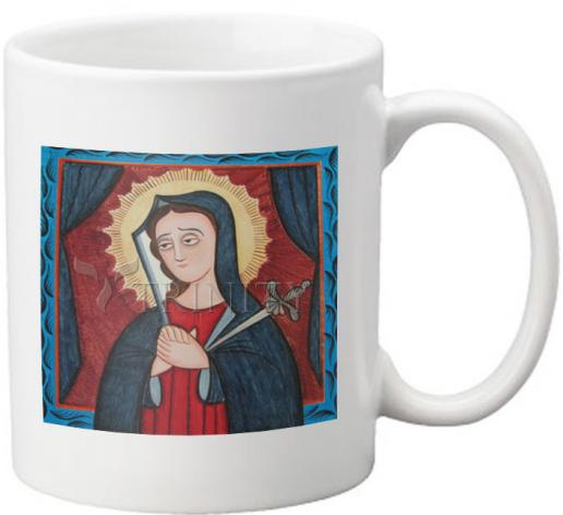 Coffee-Tea Mug - Mater Dolorosa - Mother of Sorrows by A. Olivas