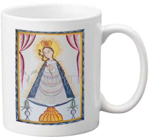 Coffee-Tea Mug - Virgin of the Macana by A. Olivas