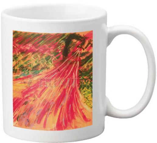 Coffee-Tea Mug - Breath Of Life by B. Gilroy