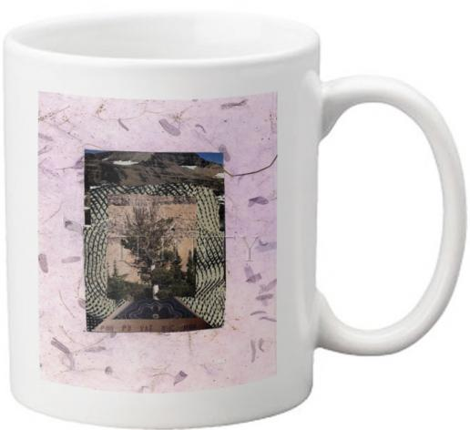 Coffee-Tea Mug - Burning Bush by B. Gilroy