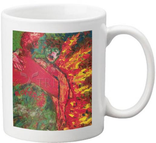 Coffee-Tea Mug - St. Oscar Romero's Embrace by B. Gilroy