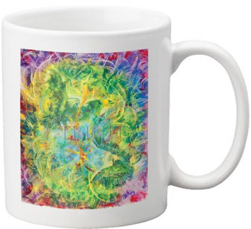 Coffee-Tea Mug - Two Guardian Eagles at the Tomb by B. Gilroy