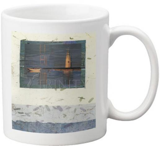 Coffee-Tea Mug - Water Reflections by B. Gilroy