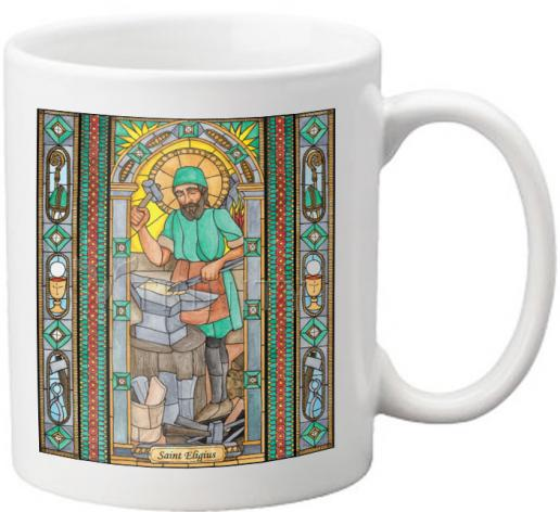 Coffee-Tea Mug - St. Eligius by B. Nippert