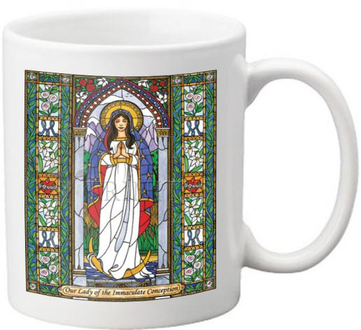 Coffee-Tea Mug - Our Lady of the Immaculate Conception by B. Nippert