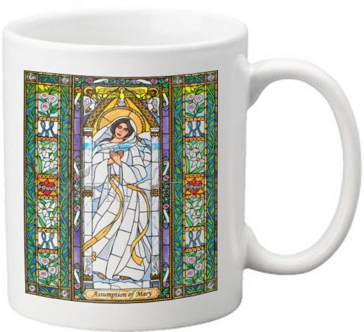 Coffee-Tea Mug - Assumption of Mary by B. Nippert