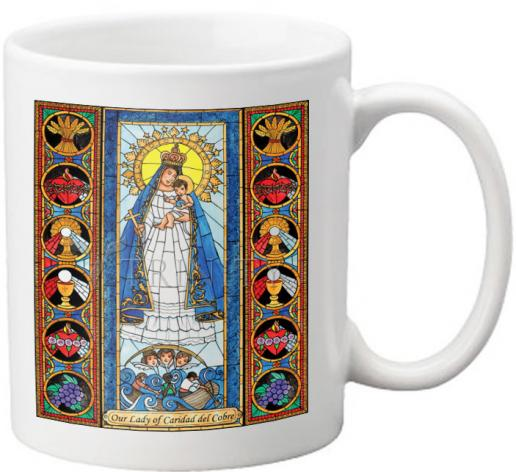 Coffee-Tea Mug - Our Lady of Caridad del Cobra by B. Nippert