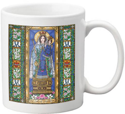 Coffee-Tea Mug - Our Lady of Consolation by B. Nippert