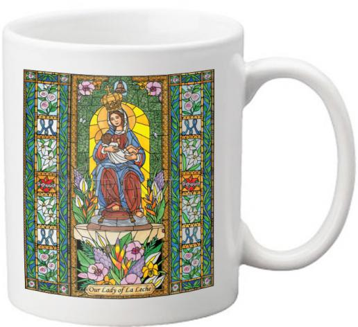 Coffee-Tea Mug - Our Lady of the Milk by B. Nippert