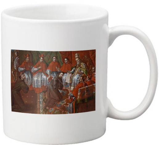 Coffee-Tea Mug - St. Francis of Assisi Before Pope by Museum Art