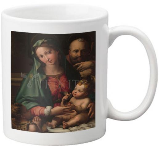 Coffee-Tea Mug - Holy Family with Infant St. John the Baptist by Museum Art