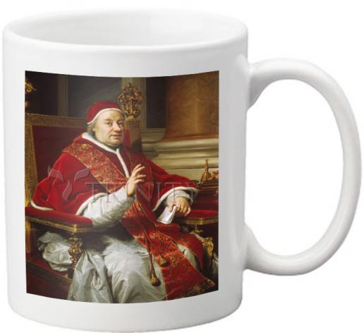Coffee-Tea Mug - Pope Clement XIII by Museum Art