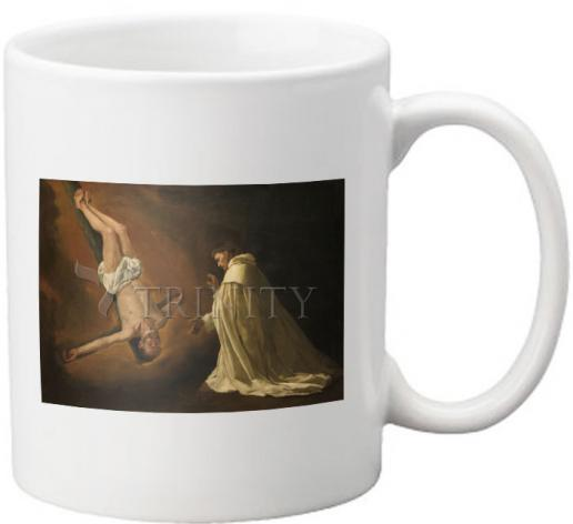 Coffee-Tea Mug - Apparition of St. Peter to Saint Peter Nolasco by Museum Art