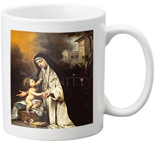 Coffee-Tea Mug - St. Rose of Lima by Museum Art