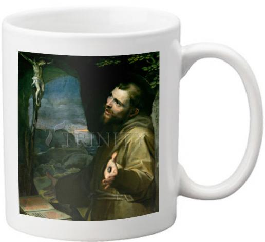 Coffee-Tea Mug - St. Francis of Assisi by Museum Art